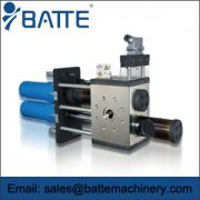 Application range of hydraulic screen changer