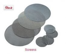Filter Screens for Polymer Melt Filtration